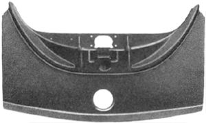 Revêtement avant - VAN WEZEL - 5801622