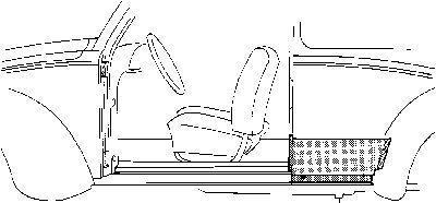 Panneau latéral - VAN WEZEL - 5801.42