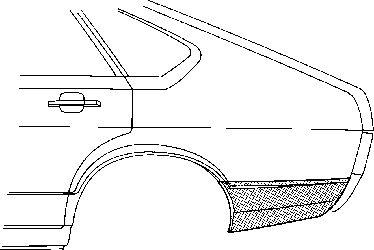 Panneau latéral - VAN WEZEL - 5807134