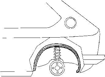 Passage de roue - VAN WEZEL - 5810446