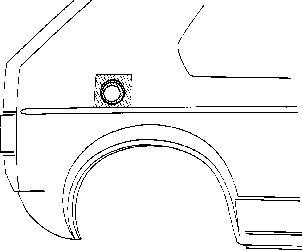 Panneau latéral - VAN WEZEL - 5810190