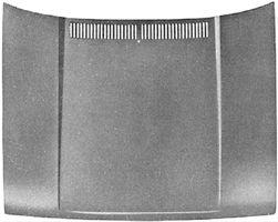 Capot-moteur - VAN WEZEL - 5810660