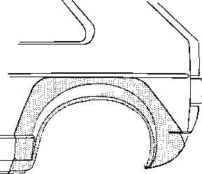 Panneau latéral - VAN WEZEL - 5810.46