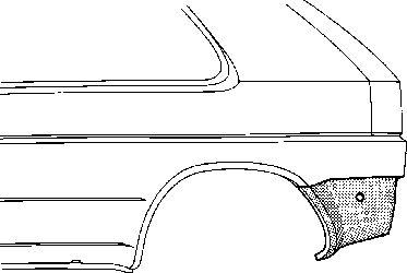 Panneau latéral - VAN WEZEL - 5812134