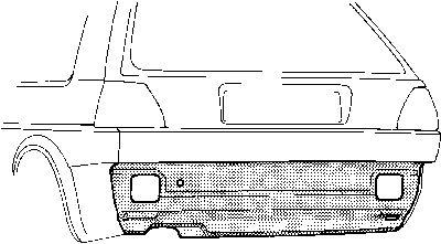 Panneau arrière - VAN WEZEL - 5812136