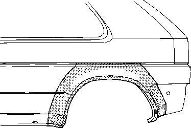 Panneau latéral - VWA - 88VWA3305146