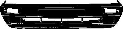 Pare-chocs - VAN WEZEL - 5813572