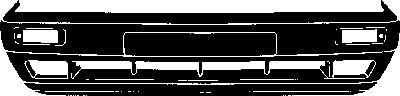 Pare-chocs - VAN WEZEL - 5813573