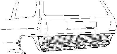 Panneau arrière - VAN WEZEL - 5820136