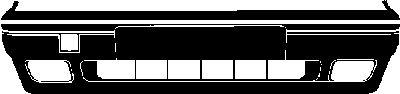 Pare-chocs - VAN WEZEL - 5823572