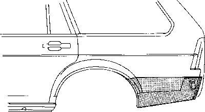 Panneau latéral - VAN WEZEL - 5831134