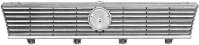 Grille de radiateur - VAN WEZEL - 5830510