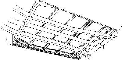 Plancher de carrosserie - VAN WEZEL - 5851.22