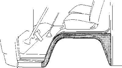 Panneau latéral - VAN WEZEL - 5851.55