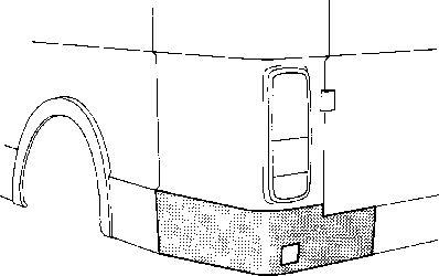 Panneau latéral - VWA - 88VWA5858132
