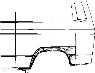 Panneau latéral - VAN WEZEL - 5870146