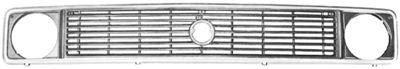Grille de radiateur - VAN WEZEL - 5870510