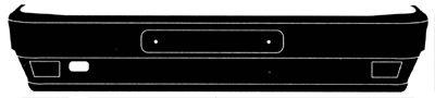 Pare-chocs - VAN WEZEL - 5874576