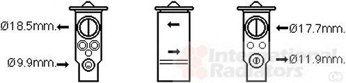 Détendeur, climatisation - VAN WEZEL - 59001171