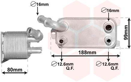 Radiateur d'huile - VWA - 88VWA59003170