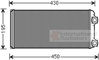 Système de chauffage - VAN WEZEL - 60006048