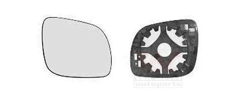 Verre de rétroviseur, rétroviseur extérieur - VAN WEZEL - 7620834