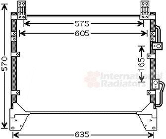 Condenseur, climatisation - VWA - 88VWA81005142