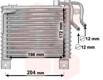 Radiateur d'huile - VAN WEZEL - 82003329