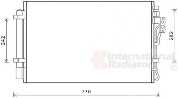 Condenseur, climatisation - VAN WEZEL - 83005157
