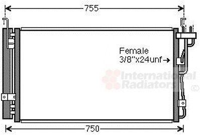 Condenseur, climatisation - VWA - 88VWA83005210