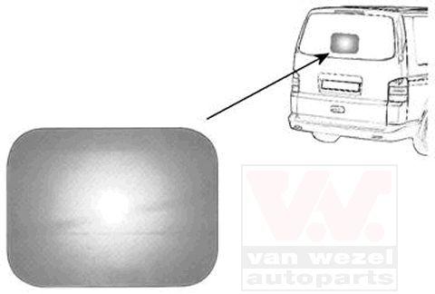 Rétroviseur extérieur - VAN WEZEL - 9061