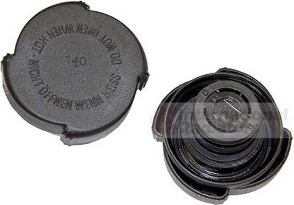 Bouchon de radiateur - VAN WEZEL - 98000027