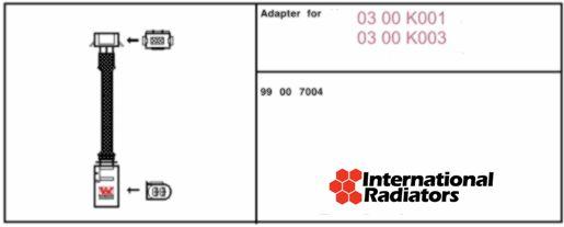 Adaptateur de raccordement, compresseur - VAN WEZEL - 99007004