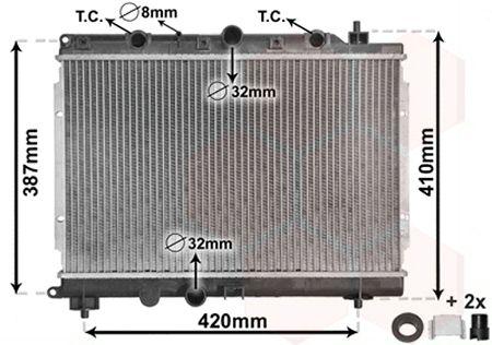 Radiateur, refroidissement du moteur - VWA - 88VWA02002153
