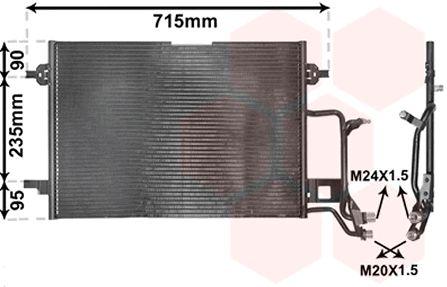 Condenseur, climatisation - VWA - 88VWA03005116