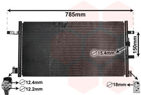 Condenseur, climatisation - VAN WEZEL - 03005360