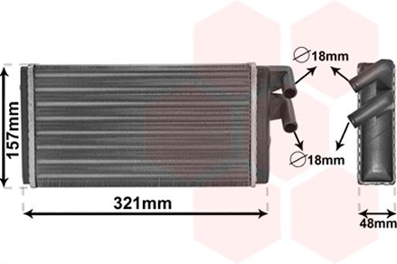 Système de chauffage - VWA - 88VWA03006052