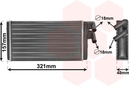 Système de chauffage - VAN WEZEL - 03006052