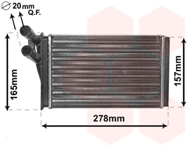 Système de chauffage - VWA - 88VWA03006097