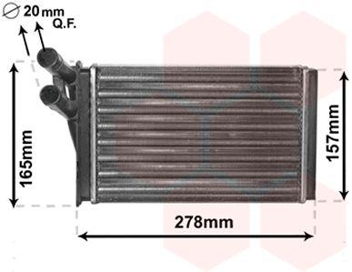 Système de chauffage - VAN WEZEL - 03006097