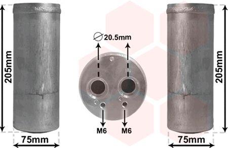 Filtre déshydratant, climatisation - VWA - 88VWA0300D210