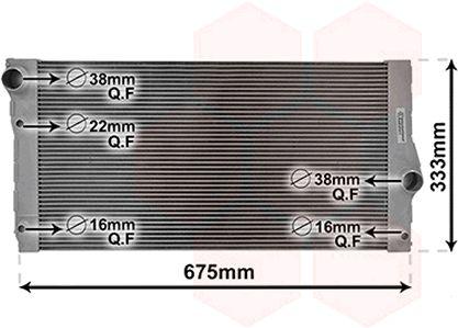 Radiateur, refroidissement du moteur - VWA - 88VWA06002355