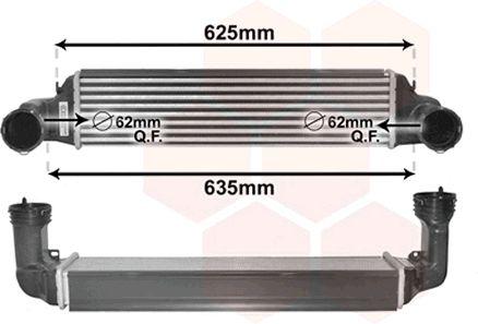 Intercooler, échangeur - VWA - 88VWA06004280