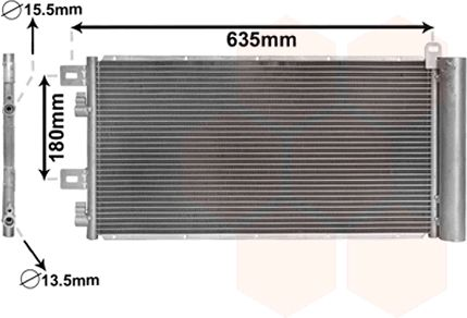 Condenseur, climatisation - VWA - 88VWA06005256