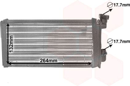 Système de chauffage - VAN WEZEL - 06006022