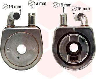 Radiateur d'huile - VAN WEZEL - 09003284