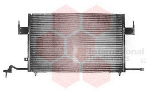Condenseur, climatisation - VAN WEZEL - 09005100