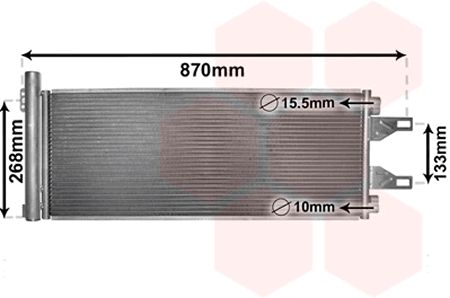 Condenseur, climatisation - VWA - 88VWA09005248