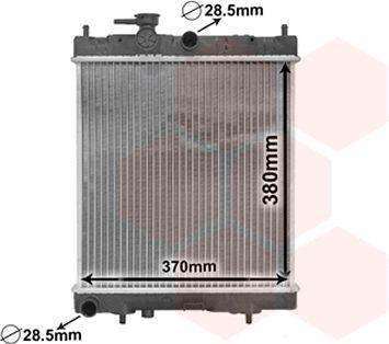 Radiateur, refroidissement du moteur - VWA - 88VWA13002130