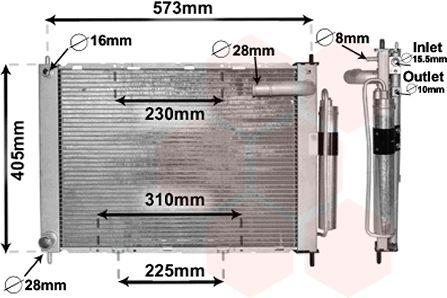 Module de refroidissement - VAN WEZEL - 1300M370